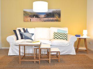Home Staging einer Mietwohnung direkt an der Weser Karin Armbrust - Home Staging Wohnzimmer im Landhausstil