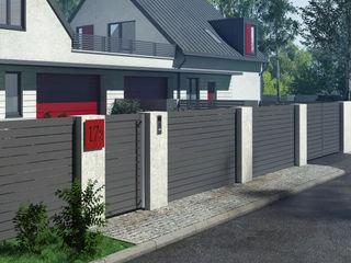 Nive JardinesCercas y muros Aluminio/Cinc Multicolor
