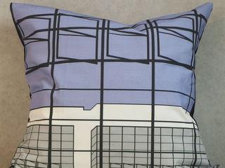 s.wert design Living roomAccessories & decoration Cotton Multicolored