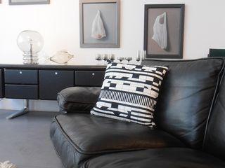 s.wert design Living roomAccessories & decoration Cotton Black