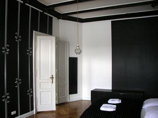 s.wert design Offices & stores Black