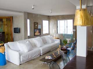 LM Arquitetura | Conceito Living roomSofas & armchairs