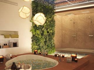 Бражинская Minimalist bathroom