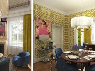 Бражинская Classic style living room