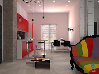 blucactus design Studio Eclectic style kitchen