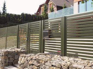 Nive GiardinoRecinzioni Alluminio / Zinco Verde
