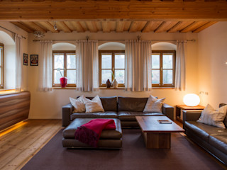 Jahn Gewölbebau Soggiorno in stile rustico
