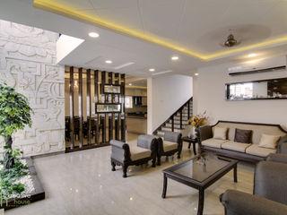 KREATIVE HOUSE Living roomSofas & armchairs Kulit Beige