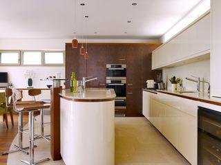 Modern Home Griffen Baufritz (UK) Ltd. Cocinas modernas