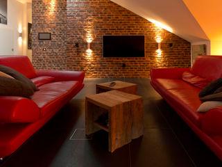 casaio | smart buildings Salas de estar modernas