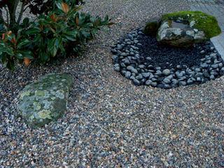 Jardim contemplativo em pedra Atelier Jardins do Sul Jardins minimalistas