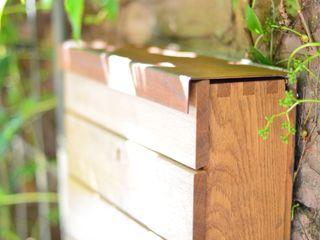 Briefkasten Fang Interior Design Jardines de estilo moderno