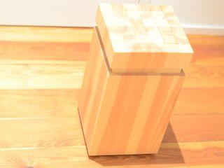 Hocker Fang Interior Design SalasBancos y sillas