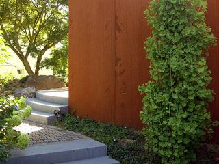 Umgestaltung eines privaten Wohngartens am Hang dirlenbach - garten mit stil Asiatischer Garten