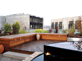 Moderner Dachgarten dirlenbach - garten mit stil GartenMöbel