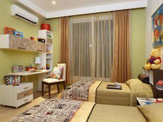 Tanish Dzignz Dormitorios infantiles modernos: Multicolor