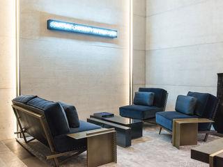 AD Intérieurs 2015, Palais d'iéna Concrete LCDA Salones de estilo moderno Hormigón Gris