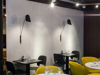 Little Apple Saintonge Concrete LCDA Bares y clubs de estilo moderno Hormigón Gris
