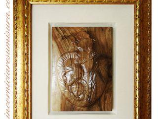 INCORNICIARE SztukaRzeźby Lite drewno