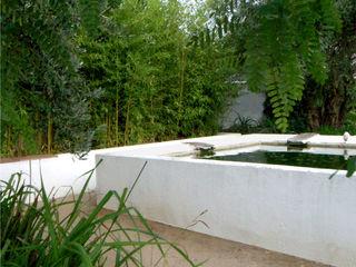 Recuperação de tanque de rega Atelier Jardins do Sul Jardins ecléticos