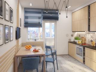 Giovani Design Studio Cocinas de estilo escandinavo