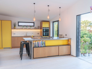 The Scandinavian Kitchen Papilio Scandinavian style kitchen Yellow