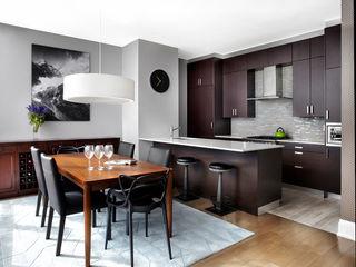 ANNA DUVAL Кухня в стиле модерн Коричневый