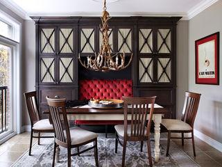 ANNA DUVAL Столовая комната в классическом стиле Красный
