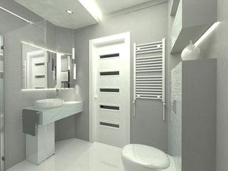 Structured Arch/tecture Nowoczesna łazienka