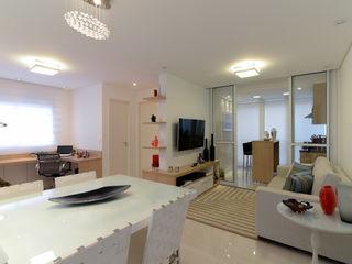 RAFAEL SARDINHA ARQUITETURA E INTERIORES Modern living room