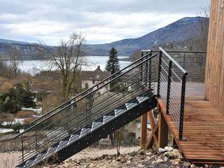Empreinte Constructions bois Balkon, Veranda & TerasAksesuarlar & Dekorasyon Metal