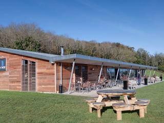 The Weir Bistro Trewin Design Architects Gastronomie moderne