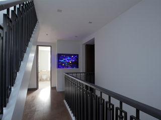 Toscana Residence Aquarium Architecture Mediterranean corridor, hallway & stairs