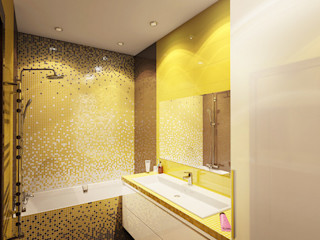INTERIERIUM Minimalist style bathrooms