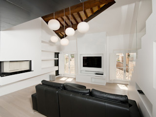 Skinless Top Loft Cumo Mori Roversi Architetti Soggiorno minimalista