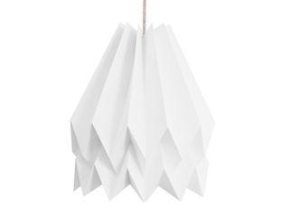 Orikomi Plain Collection Orikomi 客廳照明 紙 White