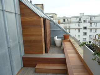 Scènes d'extérieur Balkon, Beranda & Teras Modern