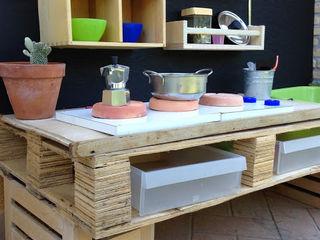 Home Lifting GartenSchaukeln und Spielplätze Holz Braun