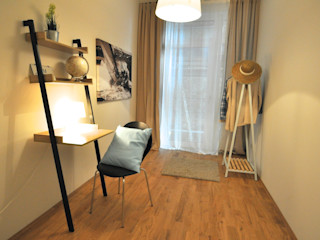 Maritime Musterwohnung Karin Armbrust - Home Staging Moderne Arbeitszimmer