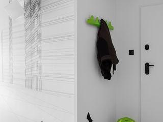 WERONIKA TROJANOWSKA photographer Minimalist corridor, hallway & stairs White