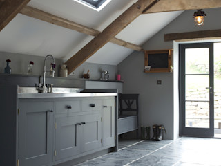 The Utility Room Papilio Country style kitchen Grey