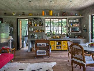 Carlos Salles Arquitetura e Interiores Cucina moderna