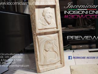 INCORNICIARE SztukaRzeźby Lite drewno Wielokolorowy