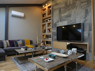 EIY HOUSE Esra Kazmirci Mimarlik Modern media room