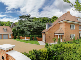 Family Home in Winchester's Sleepers Hill Martin Gardner Photography Classic style houses