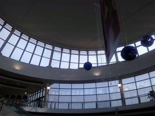 Limpieza de cúpulas, cristales y estructuras en altura Up3 Vertical Centros comerciales de estilo industrial Vidrio