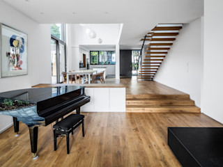 Corneille Uedingslohmann Architekten Salones de estilo moderno