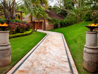 BR ARQUITECTOS Jardin tropical