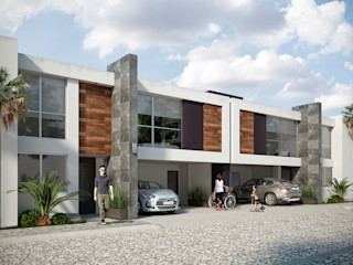 DELTA Modern houses Concrete White