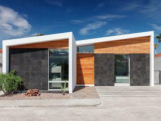 Imativa Arquitectos Casas modernas: Ideas, diseños y decoración Piedra Blanco
